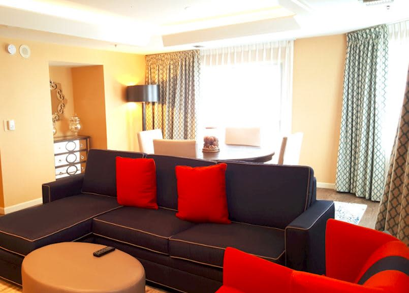 Waterfront Beach Resort - a Hilton Hotel, Huntington Beach Presidential Suite