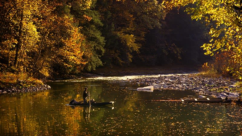 Clinch River at Saint Paul, Virginia