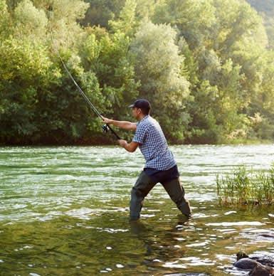 Clinch River at Saint Paul, Virginia