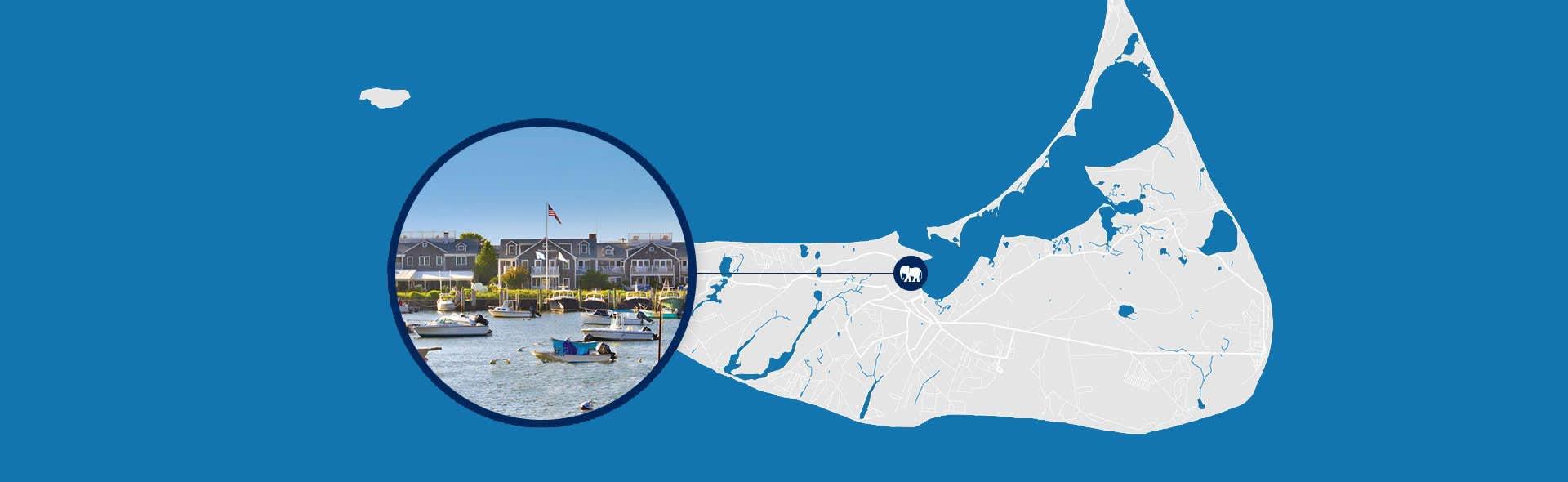 Getting Nantucket, MA