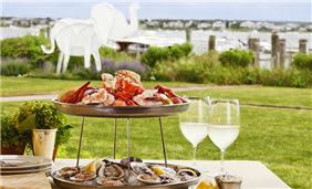 Brant Point Grill Seafood Tower