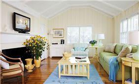 White Elephant 3-Bedroom Garden Cottage Living Room
