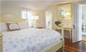 White Elephant Cottage Guest Bedroom
