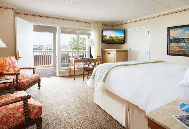 Harborview Room near Restaurant at White Elephant Hotel, Massachusetts