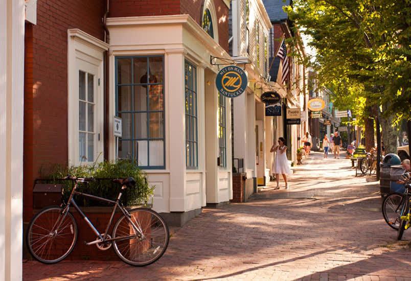 Shopping at Nantucket