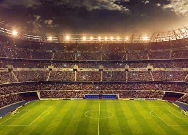 Mile High Stadium in Denver
