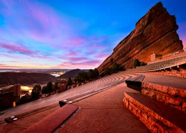 Red Rock Amphitheatre in Morrison
