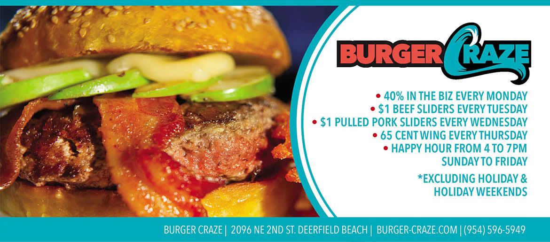 burger craze summer