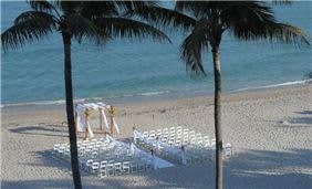 Beach Front Wedding at Deerfield