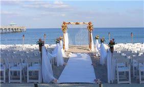 Ocean Front Wedding at Deerfield