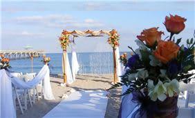 Wedding Ceremony at Deerfield Beach