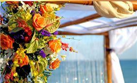 Wedding Decorations at Deerfield Beach