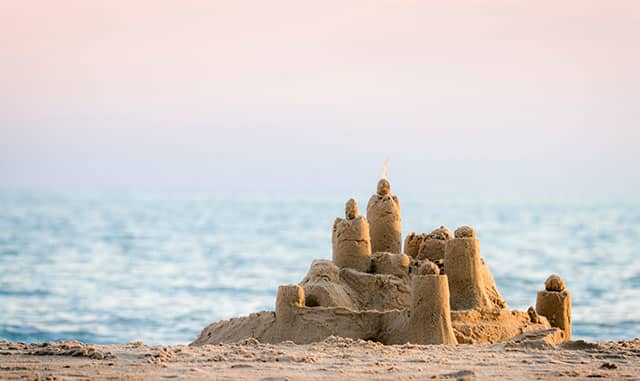 Build Sand Castles: Not Snowmen - Wyndham Deerfield Beach Resort