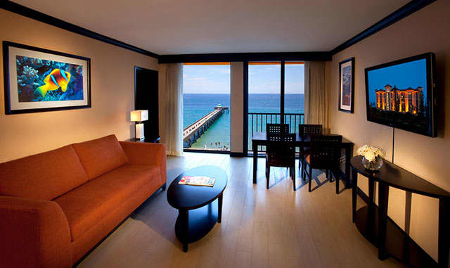 Enjoy Spacious Beachfront Suites With Ocean Views