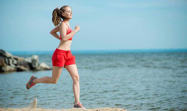Stay Active! Hit the Gym or Take a Jog on the Beach