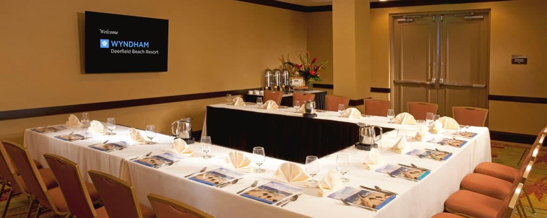 Meetings at Wyndham Deerfield Beach Resort, Florida