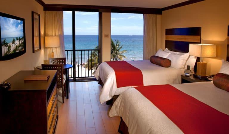 Wyndham Deerfield Beach Resort, Florida Double Queen Room