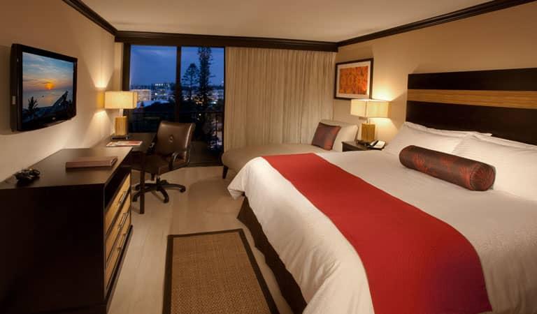 King Room at Wyndham Deerfield Beach Resort, Florida