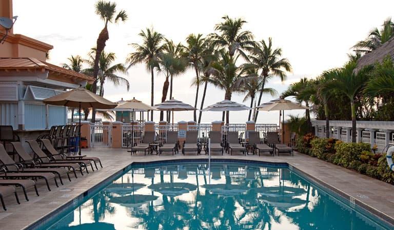 Pool Area at Wyndham Deerfield Beach Resort, Florida