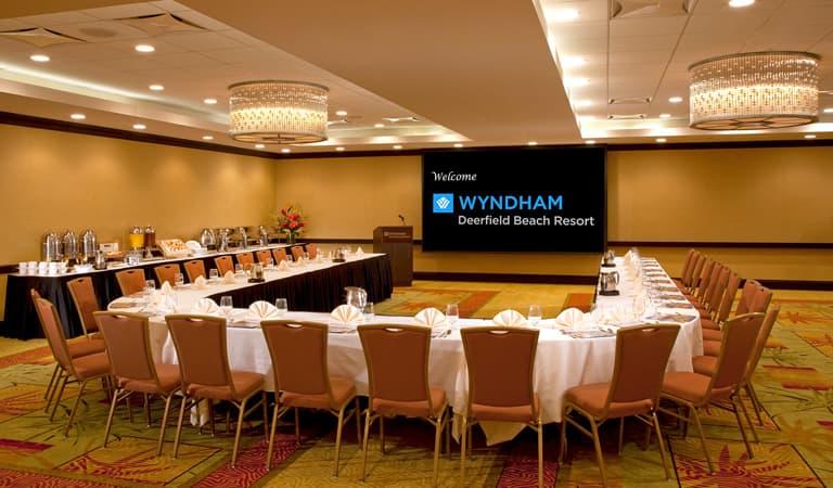 Royal Palm Ballroom at Wyndham Deerfield Beach Resort, Florida
