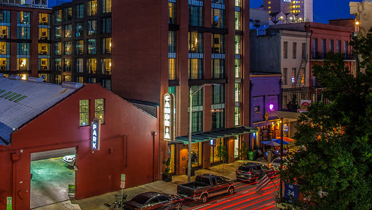 Hotel with an Iconic Big Easy Style