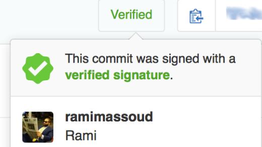 GitHub Verified Badge