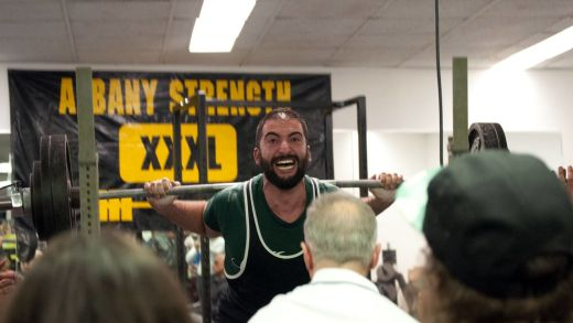 Final Squat Attempt 405 lbs