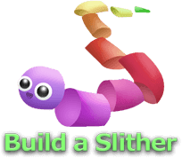 スキン選択画面右下の「Build a Slither」ボタン