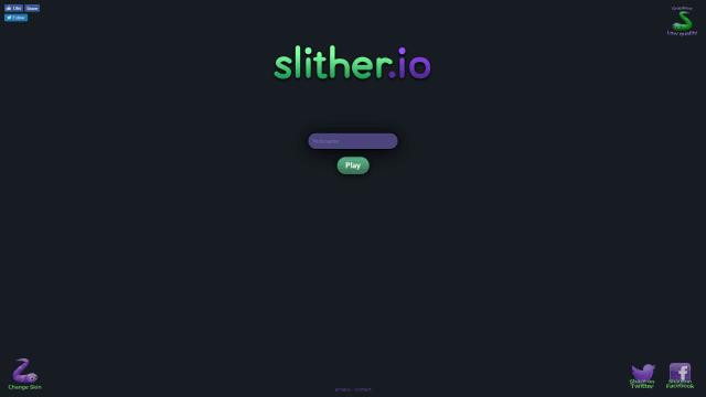 ブラウザ版スリザリオのトップ画面