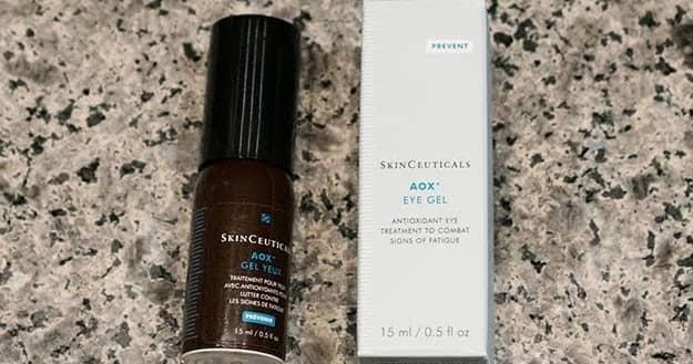 Skinceuticals AOX eye gel for Dark eye circles