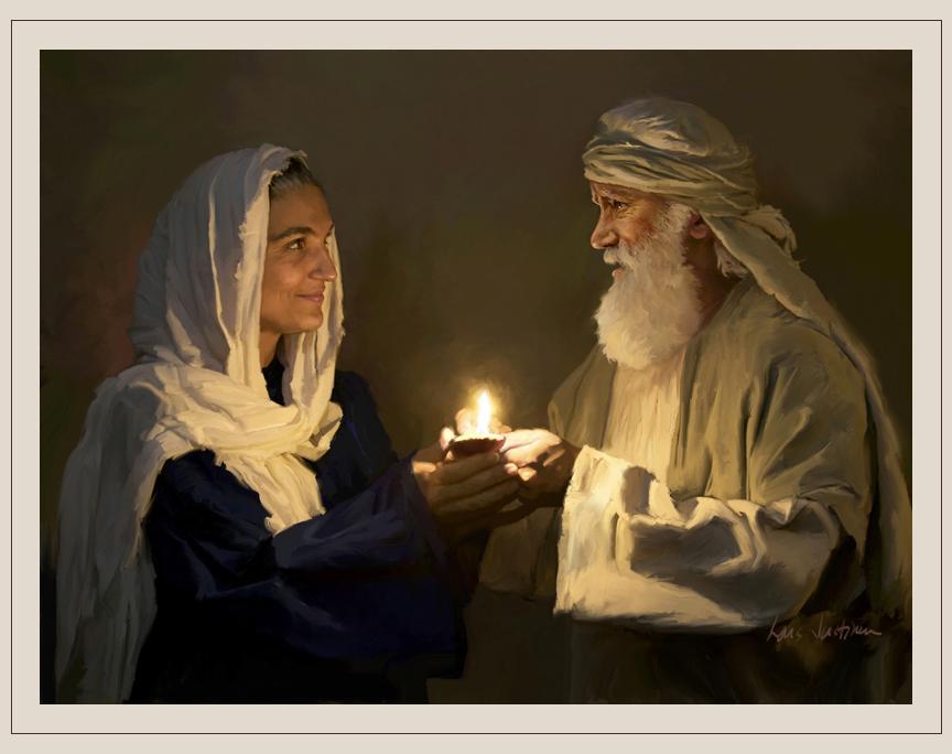Abraham i Sara - przykład niepłodnej pary z Biblii
