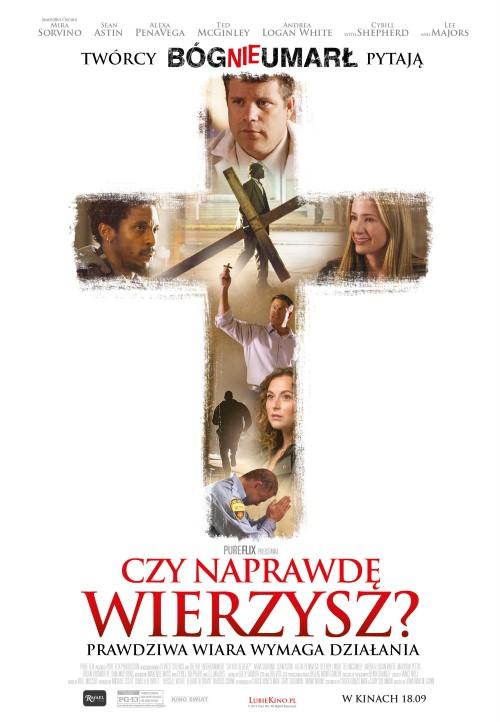 plakat z filmu Czy naprawdę wierzysz