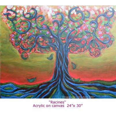 """Acrylic on canvas. 24"""" x 30"""""""