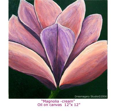 """""""Magnolia - Cream"""""""
