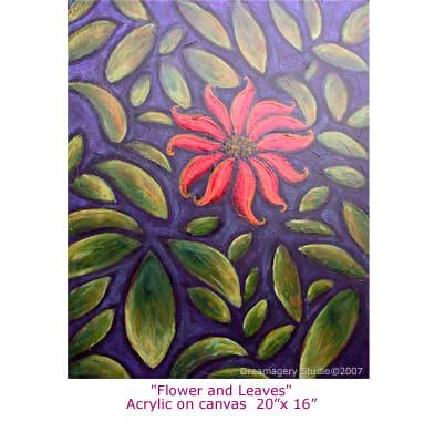 """""""Flower & Leaves"""""""