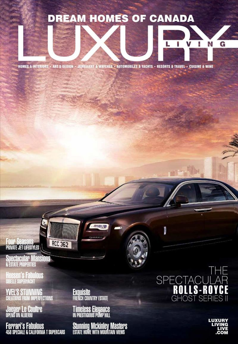 Dream Homes of Canada Luxury Living - 2017 Issue 108