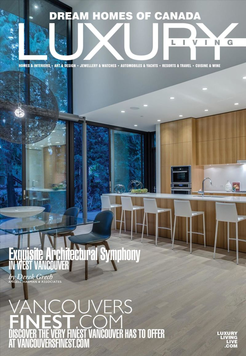 Dream Homes of Canada Luxury Living - 2018 Issue 114