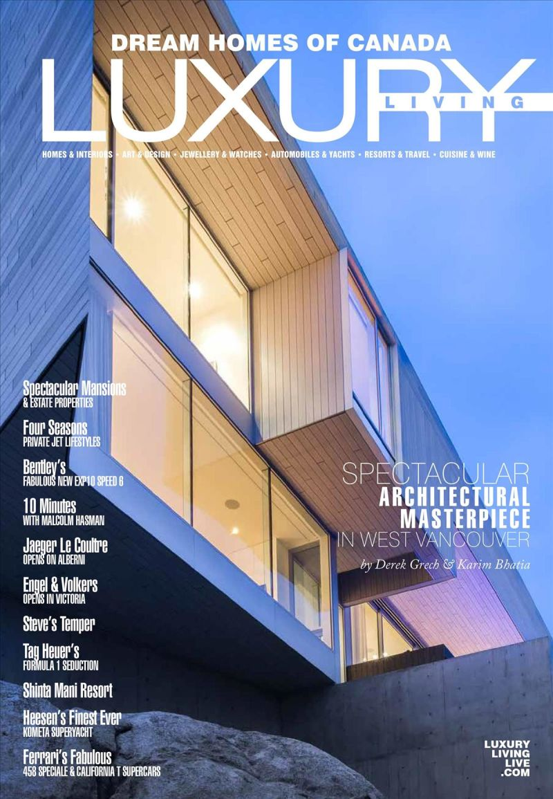 Dream Homes of Canada Luxury Living - 2017 Issue 107