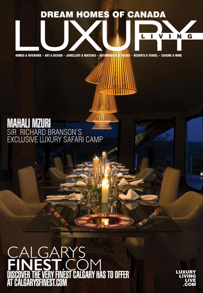 Dream Homes of Canada Luxury Living - 2018 Issue 119
