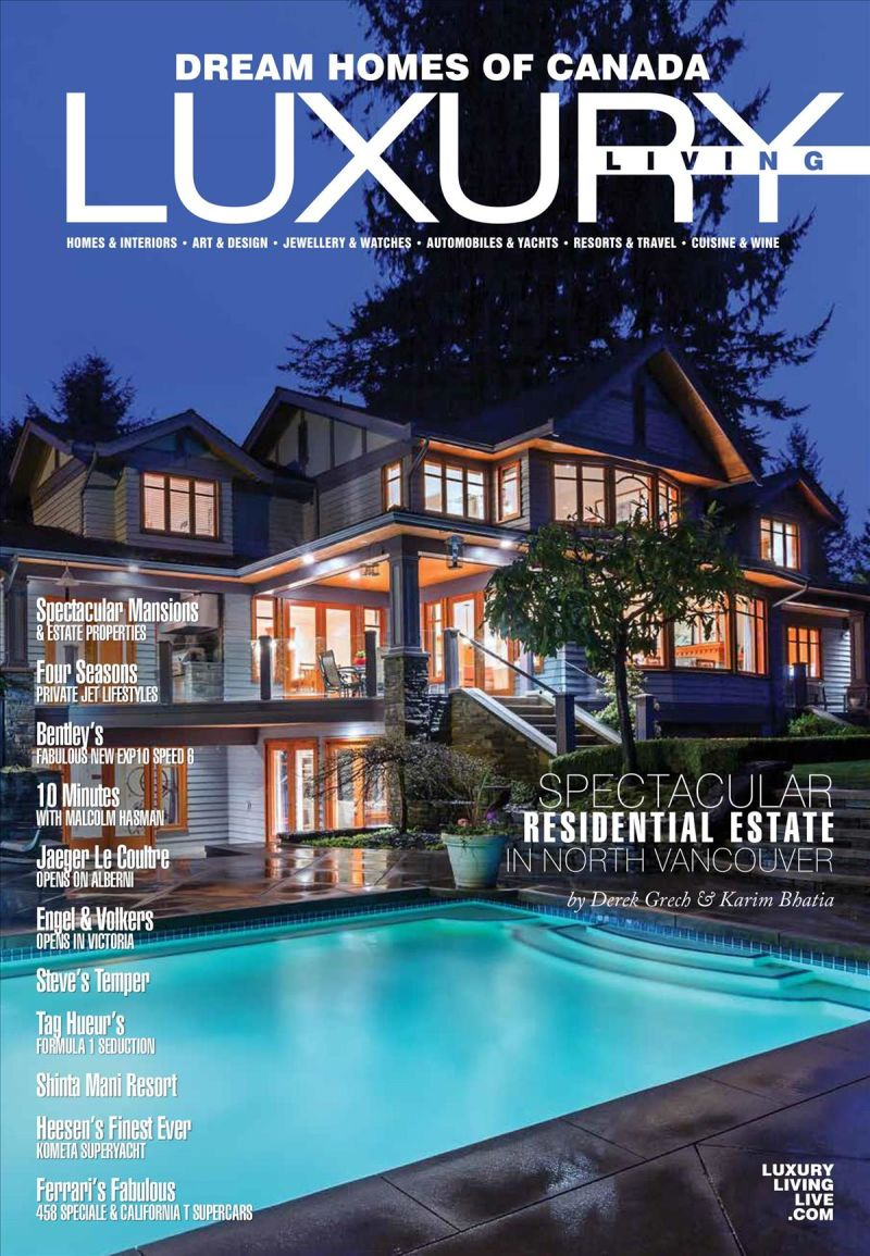 Dream Homes of Canada Luxury Living - 2017 Issue 106