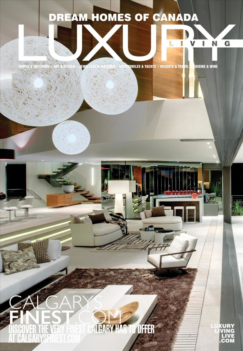 Dream Homes of Canada Luxury Living - 2018 Issue 118