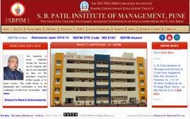 S B Patil MBA