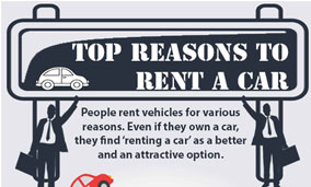 xpress ca rental infographics