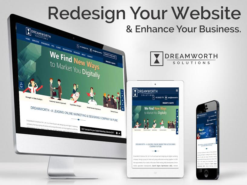 Dreamworth solution is a website development company in pune.