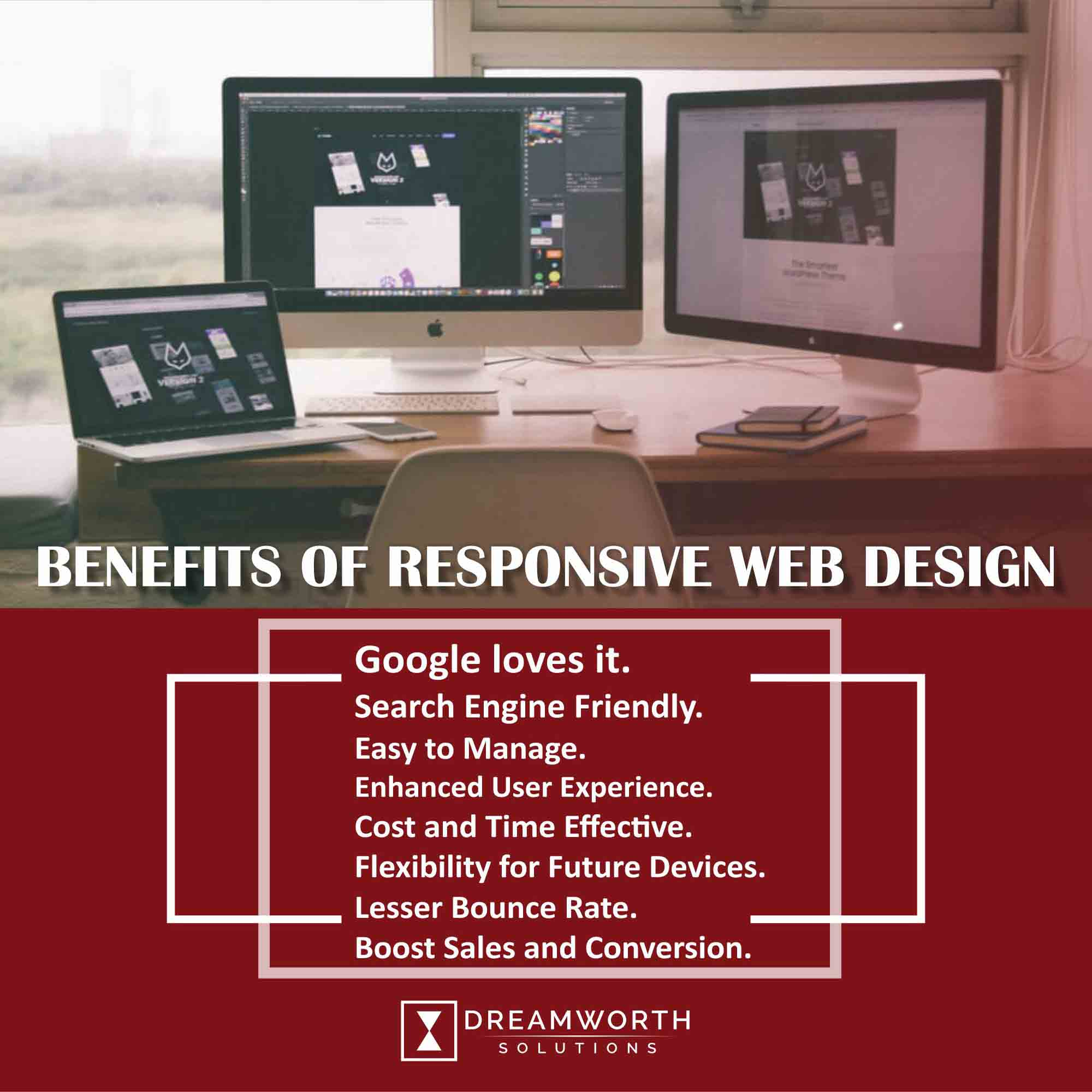 Dreamworth Solutions is the leading web Design Company in Pune. It provides web design that is responsive