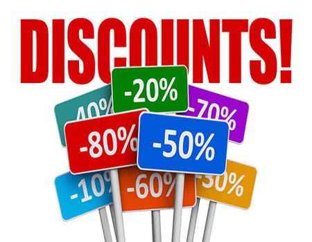 Discounts indirectly relate customer satisfaction through website services