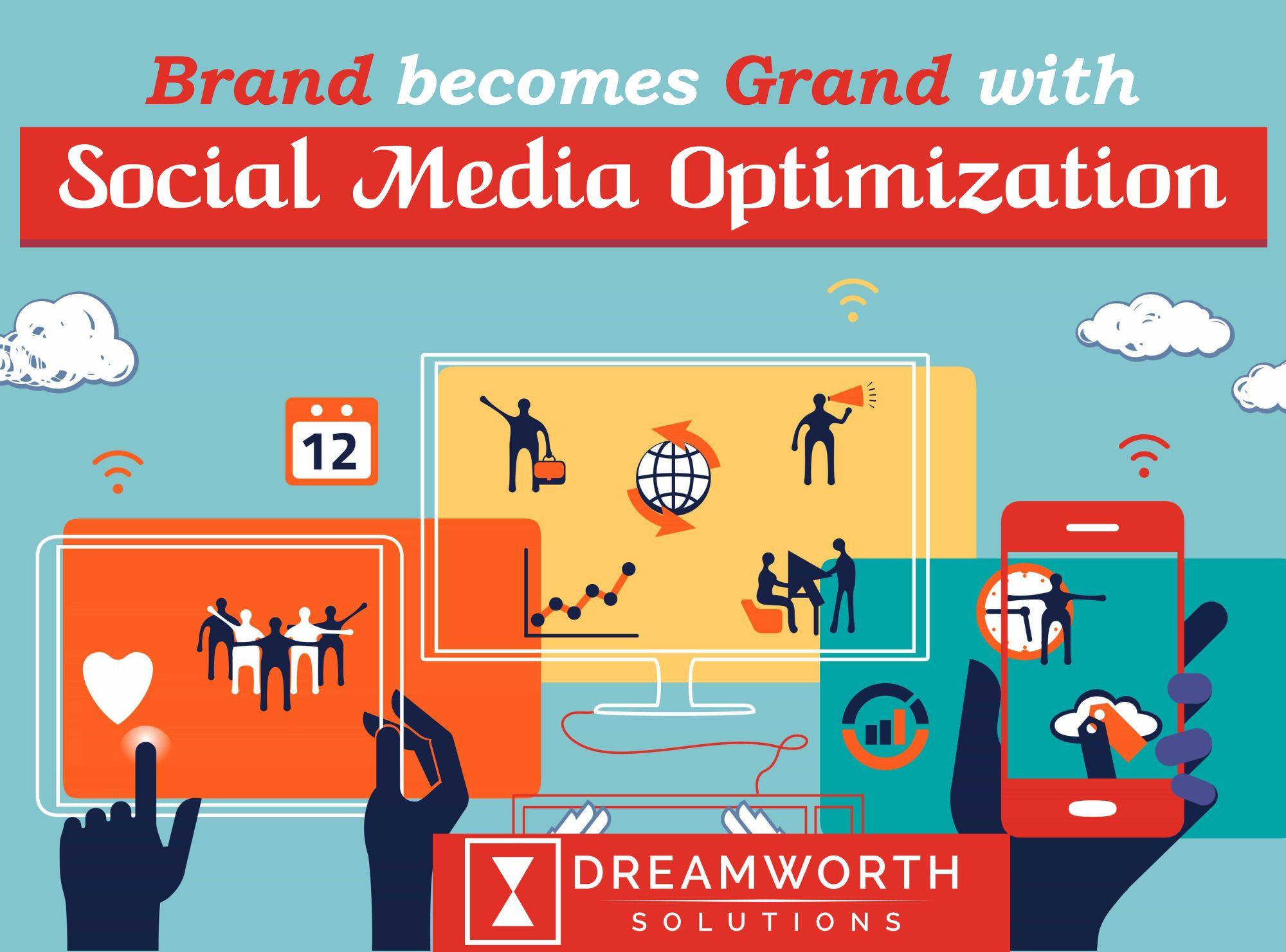 Dreamworth provides Brands for the Social Media Optimisation