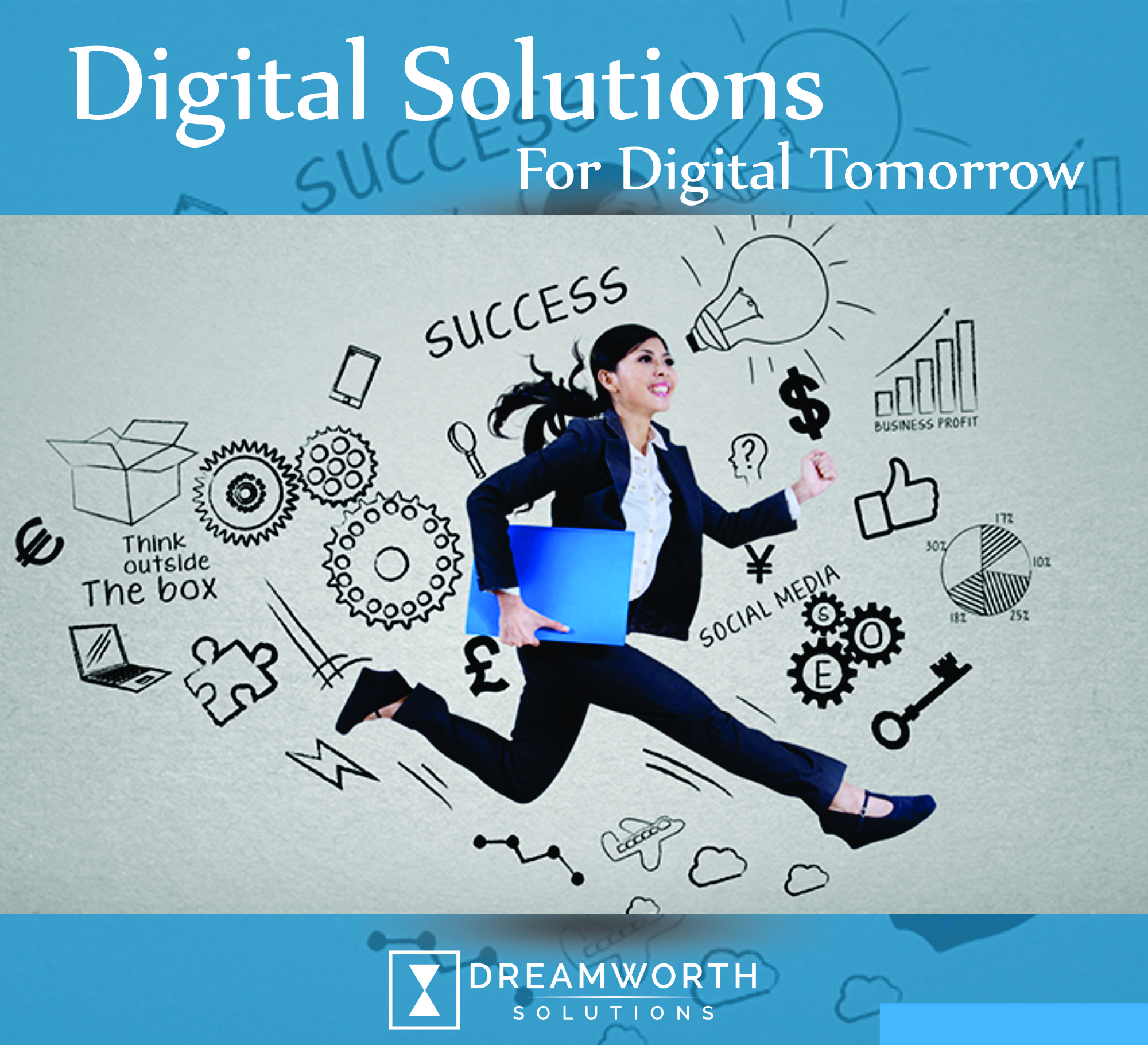 Dreamworth provides the digital solutions for the growth in digital marketing