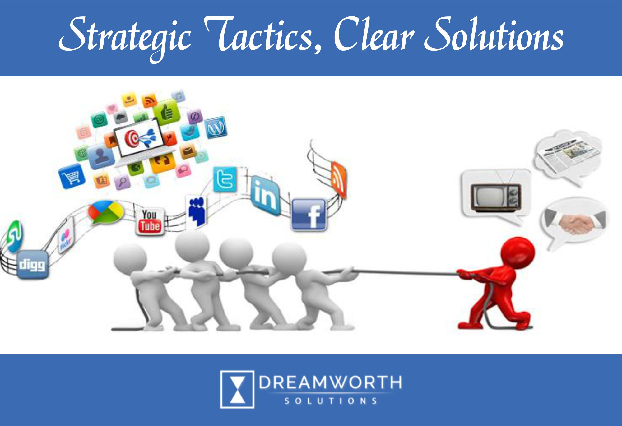Dreamworth solutions provides best digital marketing services