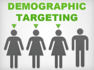 PPC aims at targeting demographic